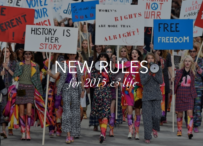 NEW RULES 2015