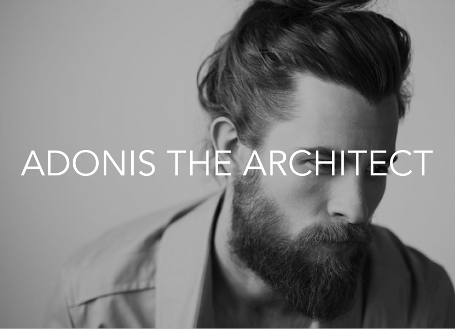 Adonis the Architect